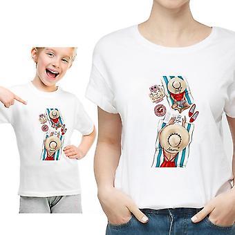 Familie bijpassende kleding T-shirt, vrouwen T-shirt, tops