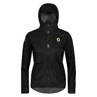 Scott Rc Run Womens Waterproof Running Jacket Black/yellow