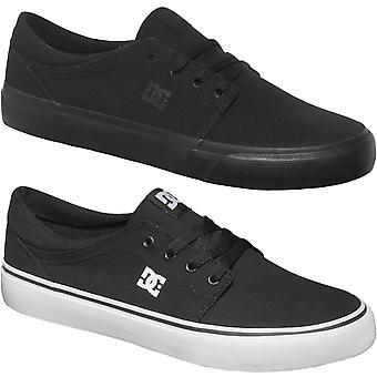 DC Shoes Mens Trase TX Zapatillas textiles de skate zapatillas de zapatos
