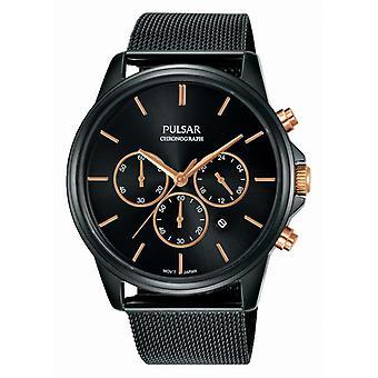Pulsar PT3927X1 Watch - Uhr Tradition Stahl Dor rosa Mann