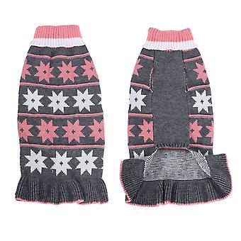 Cane cane vestiti gatto gonna autunno e inverno xingx caldo maglione piccolo cane