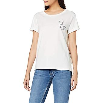 ESPRIT 099E1K022 T-Shirt, White (off White 2 111), L Woman