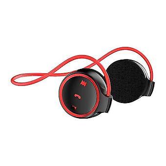 För musikspelare med 32 GB MP3 Bluetooth 5.0(Röd) WS10788