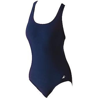 SwimTech Splashback Navy Swimsuit Junior - 26 Inch