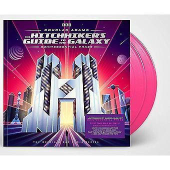 Douglas Adams - Haikerens guide til galaksen kvintessensiell fase rosa vinyl