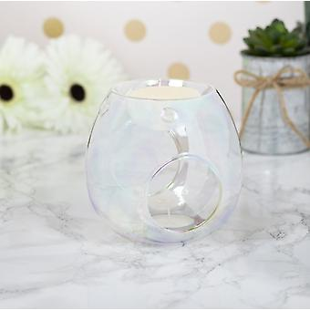 Wax/oil Warmer Clear Lustre by Lesser & Pavey