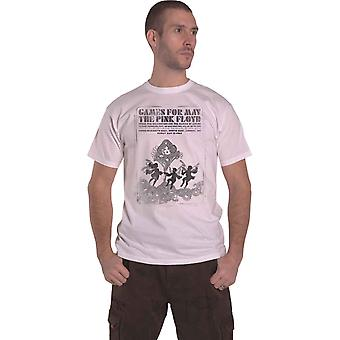 Pink Floyd T Shirt Games For May B&W new Official Mens White