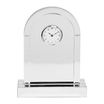 HESTIA Spegel välvd Mantel klocka