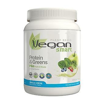 Naturade VeganSmart Protein & Greens, Vanilla Cream 22.8 Oz