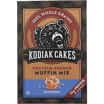 Kodiak Mix Muffin Blueberry, Case of 6 X 14 Oz