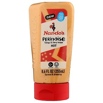 Nando Mayo Squeeze Hot, Case of 6 X 8.6 Oz