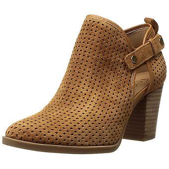 Franco Sarto Womens Dakota Leather Almond Toe Ankle Fashion Boots