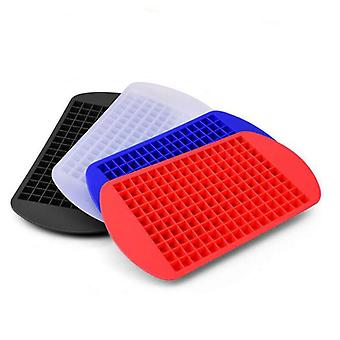 3pcs Ice Cube Tray 160 Grids  Silicone Ice Cube MakerSmall Ice Cube Mold Square Shape