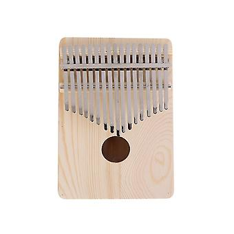 17 Key kalimba diy thumb finger piano musical instrument for beginners african sanza mbira percussion for gifts