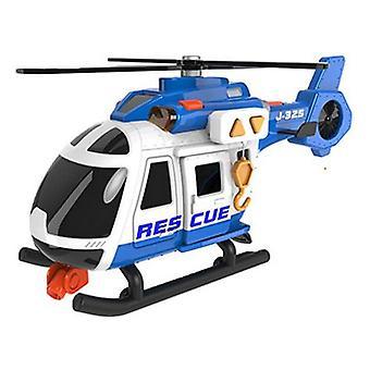 Hubschrauber CYP Teamsterz 42 cm Blau