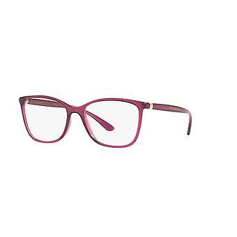 Dolce&Gabbana DG5026 1754 Óculos transparentes de cereja escura
