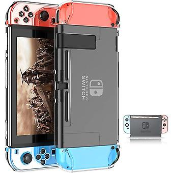 Lightweight Transparent Hard Case, Crystal Hard Case Is Compatible With Nintendo Switch