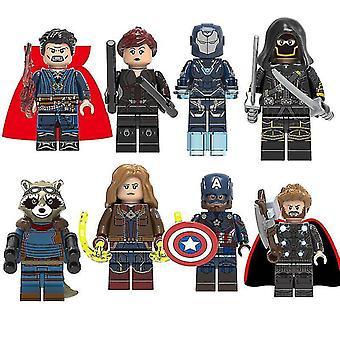 8 Kostaja supersankari koottu minihahmo soveltuu Lego