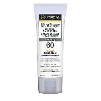 Neutrogena Ultra Sheer Dry, Touch Lotions FPS 60, 88ml