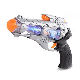 Dziecięcy muzyczny pistolet zabawkowy z lekką zabawą przeciwko dzieciom Zabawkowe pistolety symulacyjne
