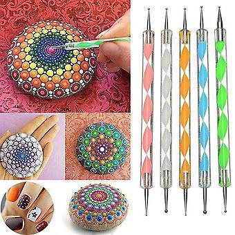 13 stuks voor Mandala Dotting Tool schilderij Rock Dot Kit Rock Stone Schilderij Pen