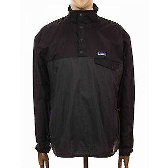 Patagonia Houdini Snap-t Pullover Top - Forge Grey