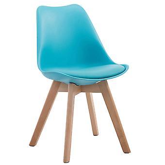Esszimmerstuhl - Esszimmerstühle - Küchenstuhl - Esszimmerstuhl - Modern - Blau - Holz - 48 cm x 55 cm x 84 cm