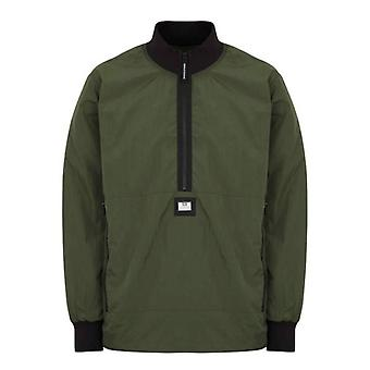 Weekend offender perez aw21 overshirt - green clay