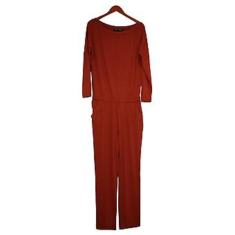 Brittany Humble Jumpsuits Off-Shoulder Jumpsuit Brown One-Piece 720036