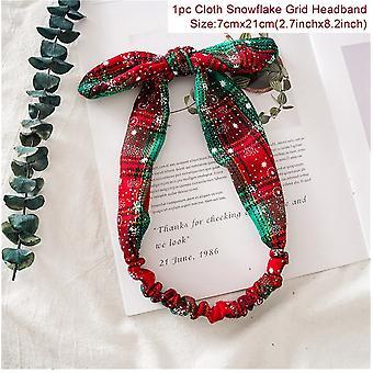 Crăciun Grid Headband