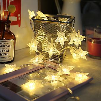 stjerne ledet fe streng lys julefest ornamenter Xmas hjem dekor