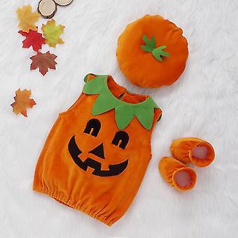 Children's Pumpkin Costume Set Christmas Halloween Party Costume