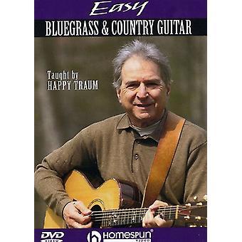 Easy Bluegrass & Country Guitar [DVD] USA import