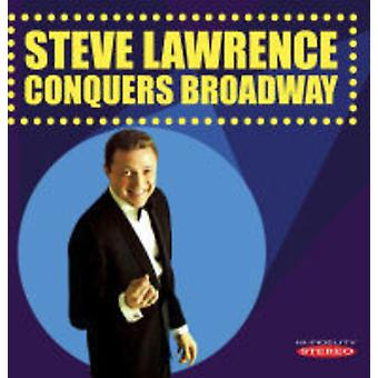 Steve Lawrence - importation USA Steve Lawrence conquiert Broadway [CD]