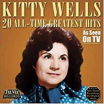 Kitty Wells - 20 All Time Greatest Hits [CD] USA import