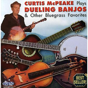 Curtis McPeake - Plays Dueling Banjos & Other Bluegrrass [CD] USA import