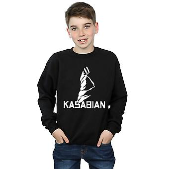 Kasabian Boys Ultraface Logo Sweatshirt