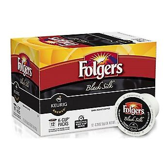 Folgers Black Silk Coffee Keurig K-Cups