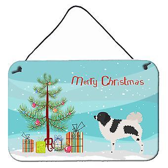 Wetterhoun Frisian Water Dog Christmas Wall or Door Hanging Prints