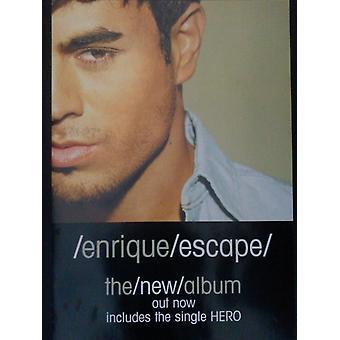 Enrique Iglesias Escape Poster