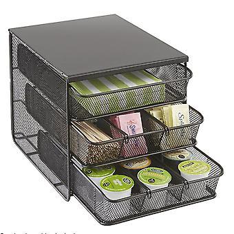 Nespresso Coffee Pod Drawer Capsule Holder & Dispenser Stand Storage System New