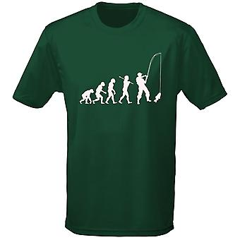 Fishing Evolution Carping Angling Mens T-Shirt 10 Colours (S-3XL) by swagwear