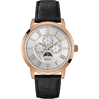 Guess Mens Watch Rose Gold White W0870G2