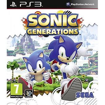 Sonic Generations (PS3) - Uusi