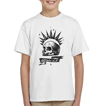 Het leven Is vreemd buitenbeentje schedel Kid's T-Shirt