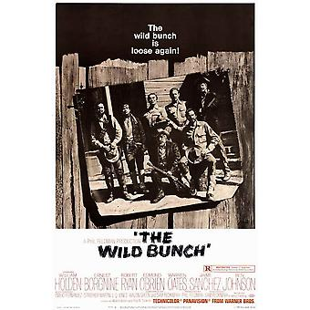 The Wild Bunch Movie Poster (11 x 17)