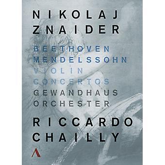 Violin Concertos [DVD] USA importeren