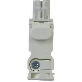 Input side AC socket for LED light series 7L Finder 07L.11 AC socket, white