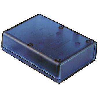 هاموند للإلكترونيات 1593YTBU باليد غلاف 140 × 66 × 28 أكريلونتريل بوتادين الستايرين الأزرق (شفاف) 1 جهاز كمبيوتر (أجهزة الكمبيوتر)