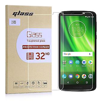 Extra Armoured Tempered Glass for Motorola Moto G6 Play (5.7) - 2 Pack